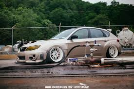 custom subaru hatchback grounded ian galvez u0027s sti hatch stancenation form u003e function