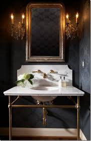 Gold Bathroom Mirror by Vivere Loo In Need Of Love Simple Ways To Revamp Your Bathroom