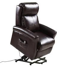 costway electric lift power chair recliners chair remote living