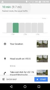 Driving Distance Google Maps Google Maps Will Now Tell You The Best Time To Hit The Road