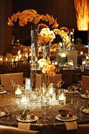 Orchid Decorations For Weddings Reception Décor Photos Amber Orchid Centerpieces Inside Weddings