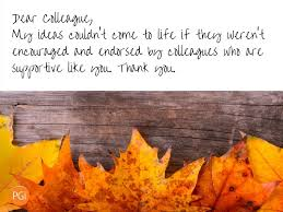 happy thanksgiving notes five thank you notes for your coworkers pgi