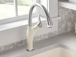 colored kitchen faucets blanco kitchen faucets blanco