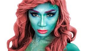 mermaid halloween makeup tutorial theprinceofvanity youtube