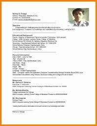 Vmware Resume Examples by Joyous Ojt Resume 9 Ojt Resume Sample No Work Experience Resume