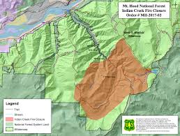 a map of oregon wildfires wildfire smoldering in columbia river gorge prompts trail closures