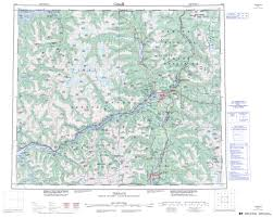 printable topographic map of terrace 103i bc