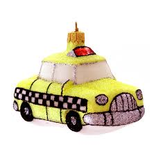 landmark creations nyc yellow taxi ornament bloomingdale s