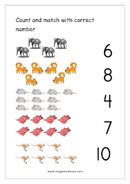 Continents And Oceans Worksheets Free Math Worksheets Number Matching Megaworkbook