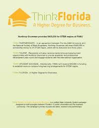 Northrop Grumman Resume News U0026 Events U2013 Think Florida