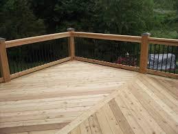 composite deck railings home u0026 gardens geek