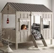 chambre cabane enfant lit design cabane chambre enfant par restoration hardware lit