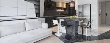 Living Room Furniture Hong Kong Stark Contrast A Striking Black And White Hong Kong Home Post