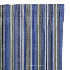 fire retardant curtains in harmony stripe teal