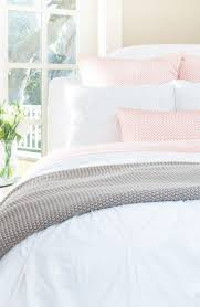 light pink and white bedding the valencia white pintuck white bedding neutral and canopy