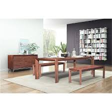 pontiff chestnut modern extension dining table eurway