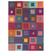 Squares Rug Modern Squares Rugs By Prestonrugs Com