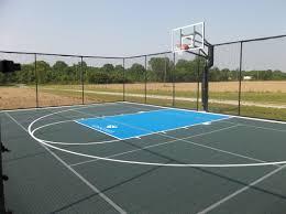 backyard basketball court tiles home outdoor decoration