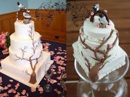 replica cake ornaments modern wedding