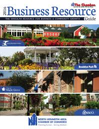 2016 north hennepin area chamber of commerce business resource guide