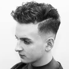 rumbarber curly hairstyle for men 2017 high fade haircut