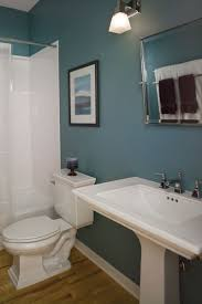 bathroom decorating ideas blue walls flooring for home on inspiration
