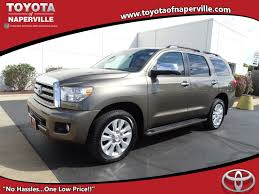 lexus of naperville certified pre owned 2017 toyota sequoia platinum 4d sport utility