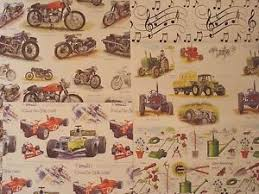 cars wrapping paper choice of 5 quality birthday gift wrapping paper sport vintage