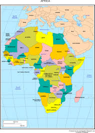 Blank Map Of Africa Pdf by Maps Of Africa