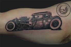 rat rod car tattoo design in 2017 real photo pictures images