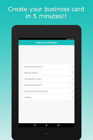 Make A Calling Card - business card maker android apps on google play