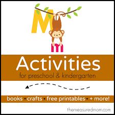 thanksgiving ideas for kindergarten letter m crafts for preschoolers the measured mom