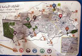 Chicago Attractions Map Visiting Fes Morocco Prepare To Get Around The Fez Medina
