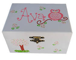 personalized jewelry box for baby personalized musical jewelry box gift for girl nursery