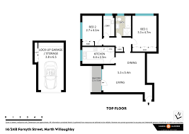 Floor Plan Of Friends Apartment Apartment Sold 14 24b Forsyth Street North Willoughby