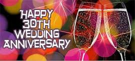 30 wedding anniversary 30th wedding anniversary wishes and sayings