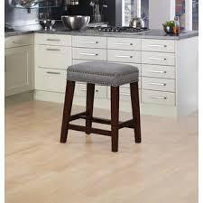 linon home decor products inc walt walnut gray bar stool linon walt gray counter stool
