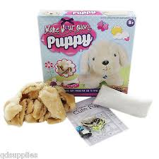 make your own teddy make your own plush teddy puppy dog soft craft kit
