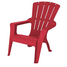 Home Depot Patio Furniture Us Leisure Adirondack Chili Patio Chair 232982 The Home Depot