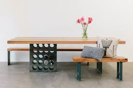wine rack dining table rust furniture australia bespoke