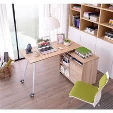 bureau informatique avec rangement bureau informatique 2 en 1 avec rangement coulissant en bois
