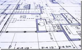 architectural drawing layout interior design