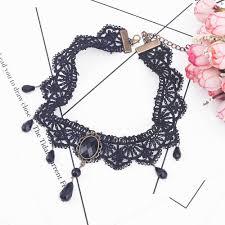 velvet choker necklace pendant images Brand new fashion black velvet choker necklace for women statement jpg