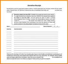 6 free non profit donation receipt template restaurant receipt