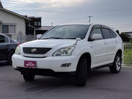 lexus nx and toyota harrier 2005 toyota harrier 240g premium l package used car for sale at