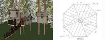 three house plans custom tree house design tree house plans