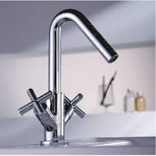 one hole kitchen faucets two handles single hole mount cold and hot kitchen faucet