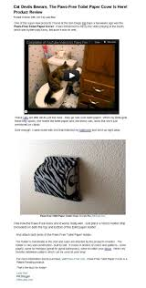 cat proofing for your toilet paper holder genius crazy