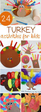 24 turkey activities for turkey craft thanksgiving and