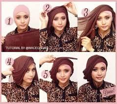 tutorial hijab pesta 2 kerudung tutorial hijab pesta apps on google play